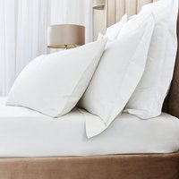 Hotel Egyptian Cotton 230 Thread Count Sateen Fitted Sheet Cream