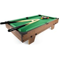 "25"" Table Top Pool Set Green"