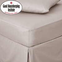 Non Iron Plain Fitted Sheet Natural