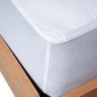image-Panda Bamboo Mattress Protector White