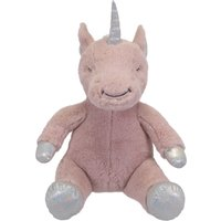 Pink Unicorn Plush Toy Pink, Silver and Blue