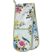 Ulster Weavers Aviary Double Oven Glove Blue, Green and Yellow