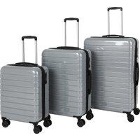 Sydney Grey Hard Shell Suitcase Grey