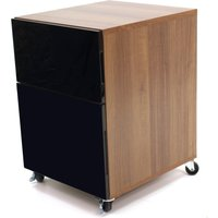 Juo Filing Cabinet Black and Brown