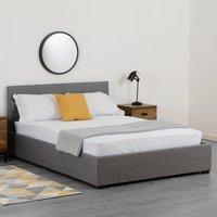 image-Waverley Linen Ottoman Bedstead - Grey Grey