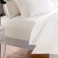 Dorma Egyptian Cotton 1000 Thread Count Fitted Sheet Cream