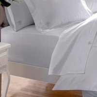 Dorma Egyptian Cotton 1000 Thread Count Fitted Sheet Silver
