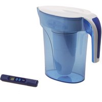 ZeroWater 7 Cup Ready Water Pitcher Jug Clear, White and Blue