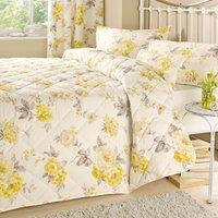 image-Windermere Lemon Bedspread Yellow
