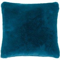 image-Adeline Faux Fur Cushion Cover Blue