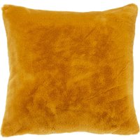 image-Adeline Faux Fur Cushion Cover Yellow