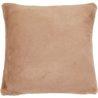 image-Adeline Faux Fur Cushion Cover Brown