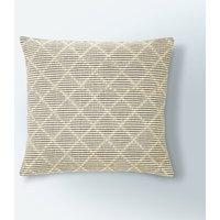 image-Tufted Diamond Cushion Cover Natural