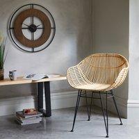 Samara Accent Chair - Natural Brown