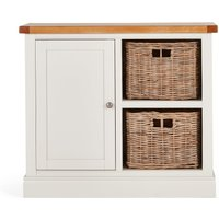 image-Compton Ivory Small Sideboard with Baskets Ivory