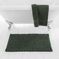 image-Pebble Forest Green Bath Mat Green