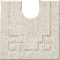 Luxury Cotton Non-Slip Cream Pedestal Mat Cream