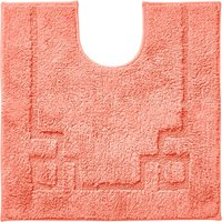 Luxury Cotton Non-Slip Coral Pedestal Mat Coral