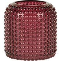 image-Red Small Retro Vase Red