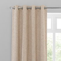 Copenhagen Red Eyelet Curtains Red and White