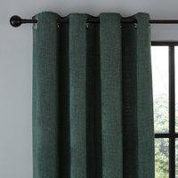 Wynter Jade Thermal Eyelet Curtains Green