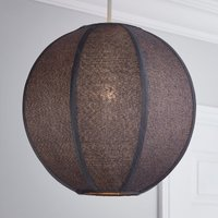 image-Jairo Woven Ball Pendant Shade Grey