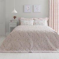 image-Fiori Pink Bedspread Pink