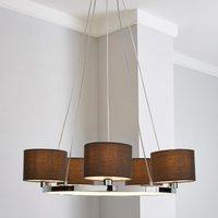 image-Talinn LED 5 Light Ceiling Fitting Grey