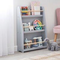 image-Grey Bookcase Grey