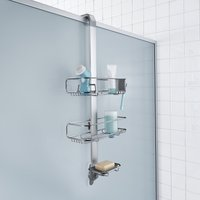 image-simplehuman Silver Shower Caddy Silver