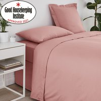 Non Iron Plain Flat Sheet Pink