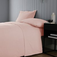 Soft and Cosy Luxury Brushed Cotton Flat Sheet Pink