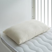 Natures Kindest Latex Cotbed Pillow White