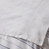 Dorma Harlyn Flat Sheet Grey