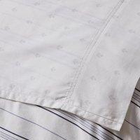 Dorma Harlyn Flat Sheet Grey