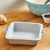 Dunelm Framed Silicone Square Cake Tin Grey