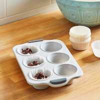 Dunelm Framed Silicone Bun Tin Grey