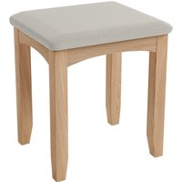 image-Lyla Dressing Table Stool Light Oak