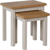 image-Reese Nest of 2 Tables Dove Grey