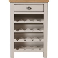 image-Reese Wine Cabinet Grey and Brown