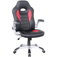 image-Talladega Gaming Chair Red
