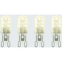 Status 2.2 Watt G9 LED Warm White Light Bulb 4 Pack NA