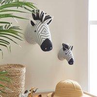 Zebra Wall Head Black