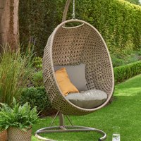 Goldcoast Beige Swing Egg Chair Beige