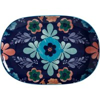 Maxwell and Williams Majolica Platter Blue, Green and Brown