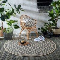 image-Indoor Outdoor Moretti Circle Rug Moretti Blue