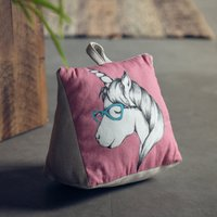 image-Unicorn Doorstop Pink