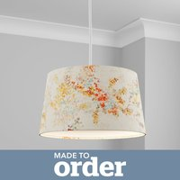 image-Made to Order 40cm French Drum Shade Camille Orange