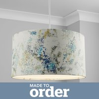 image-Made to Order 50cm Cylinder Shade Camille Navy