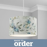 image-Made to Order 40cm Cylinder Shade Camille Navy
